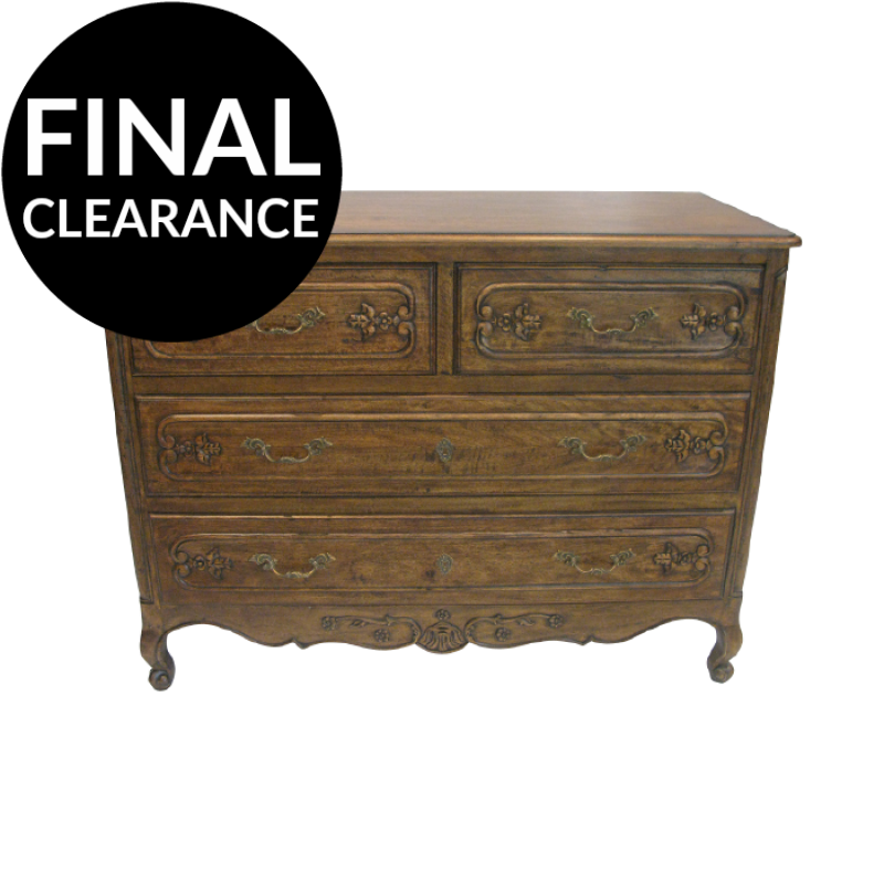 European Design French Country Style Four Drawers Chest