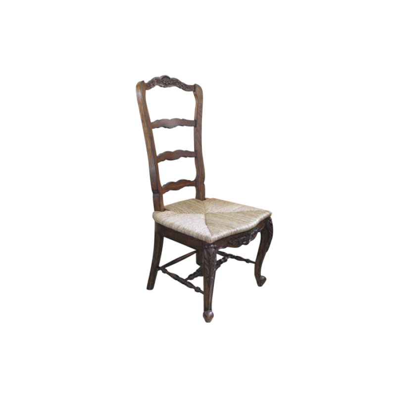 European Design French Country Ladderback Dining Chair