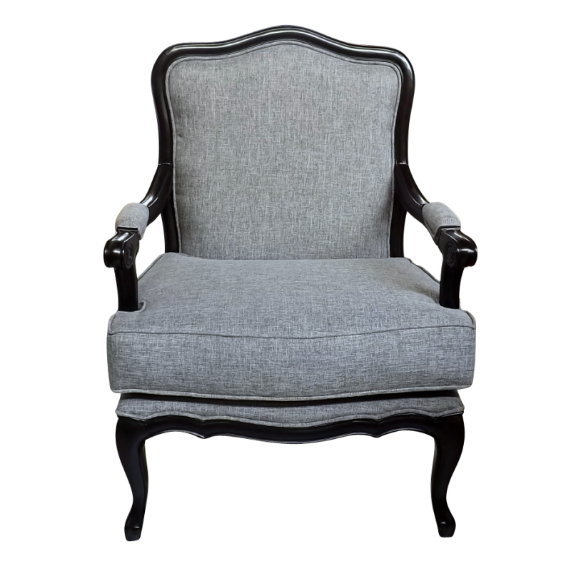 More Views. French Provincial Louis Armchair ...