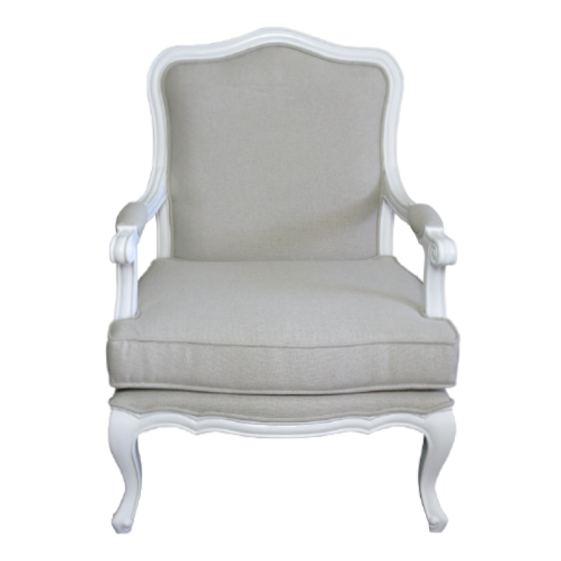 European Design Parisian French Louis Armchair