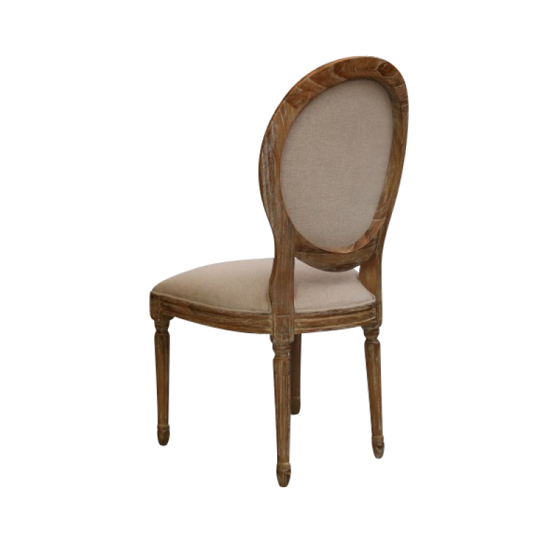 European Design French Louis Balloon Back Dining Chair In