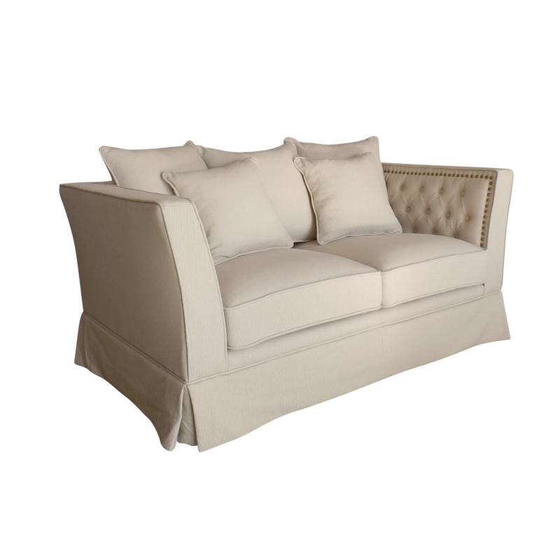 European Design Contemporary Chesterfield Two Seat Sofa In