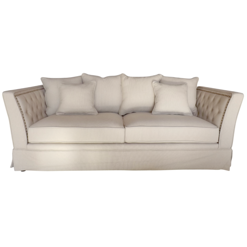 European Design Contemporary Chesterfield Three Seat Sofa