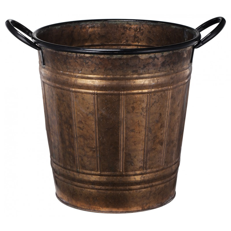 European Design Rustic Copper Planter