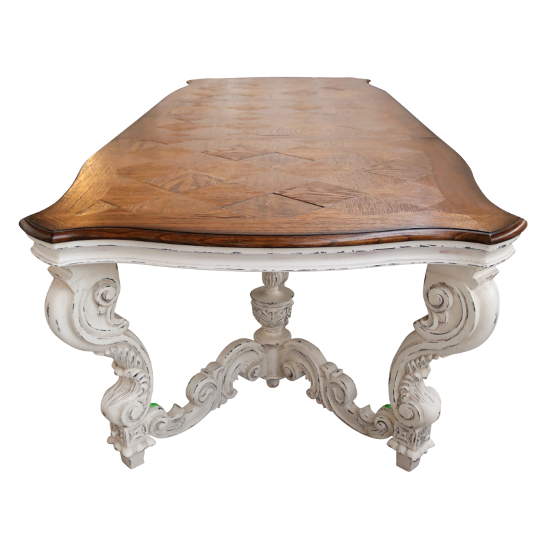 European Design French Italianate Extension Dining Table