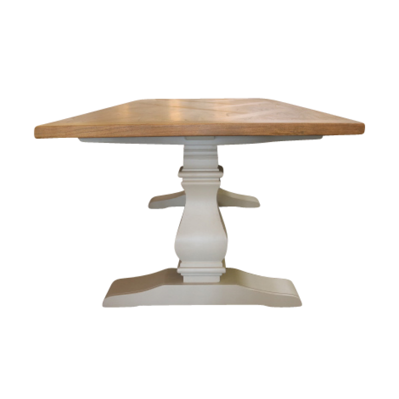 European Design Charleston Pedestal Dining Table