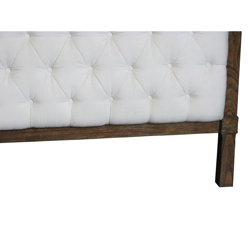European design louis xv tufted headboard in king size for European beds for sale