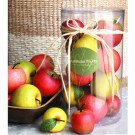 Ornamental Fuji Apples Set of 10