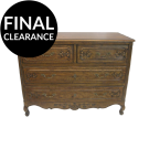 French Country Style Four Drawers Chest