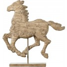 Rustic Horse on Stand