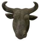 Decorative Hanging Bull Head
