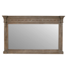 Neoclassical Wall Mirror in Reclaimed Timber