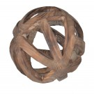 Woven Timber Decorative Orb