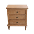 Marseilles Bedside in Light Oak