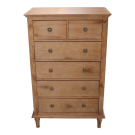 Marseilles Tallboy in Light Oak
