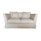 Contemporary Knole Style Chesterfield Two Seat Sofa