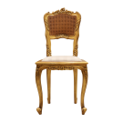 French Hall Chair Gold