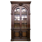 Georgian Display Cabinet in Mahogany