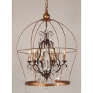 French Birdcage Chandelier