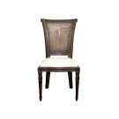 Paris Volute Dining Chair in Rattan