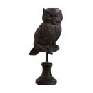 Horned Owl on Stand