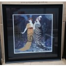 Deco Ladies in Black Frame