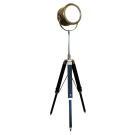 Navigators Tripod Lamp in Antiqued Bronze