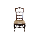 French Country Ladderback Dining Chair