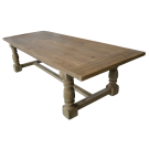 Farmhouse Dining Table in Reclaimed Pine 2.8m
