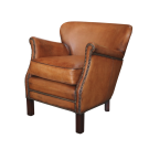 Leather Professor Arm Chair