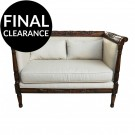 French Provincial Louis Love Seat