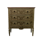 French Empire Chest in French Green