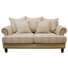 Linen Two Seat Sofa