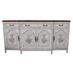 French Louis XVI Breakfront Sideboard