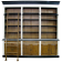 French Provincial Three Bay Bookcase
