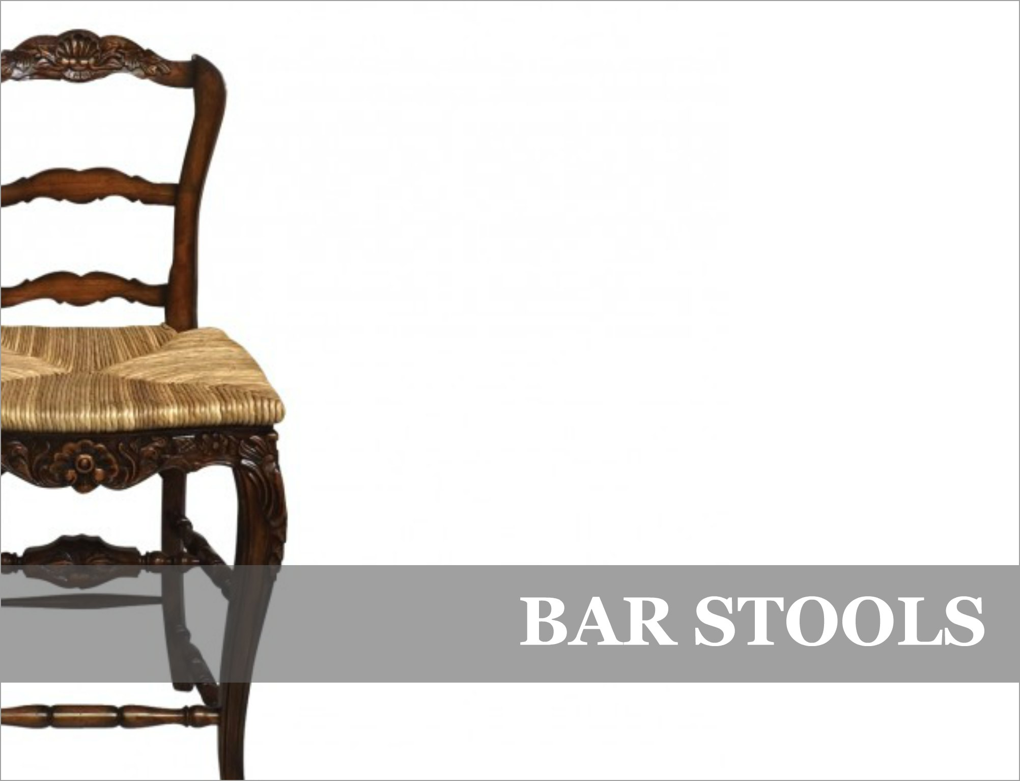 French Provincial & Industrial Bar Stools