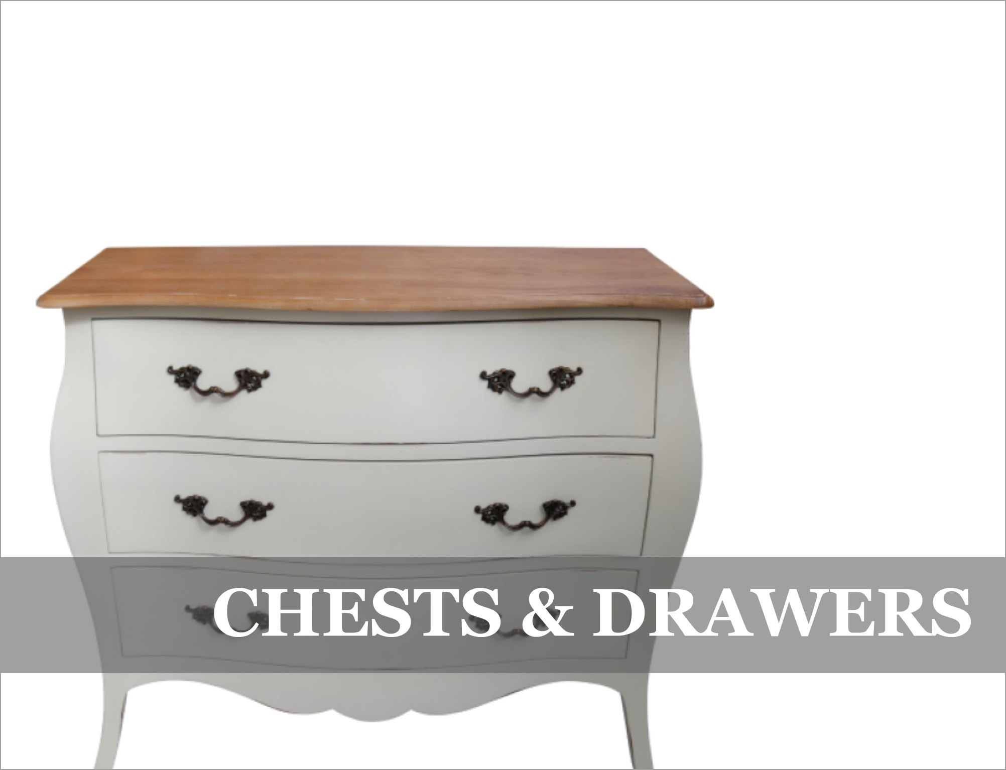 French Provincial Chests of Drawers Bedroom Storage