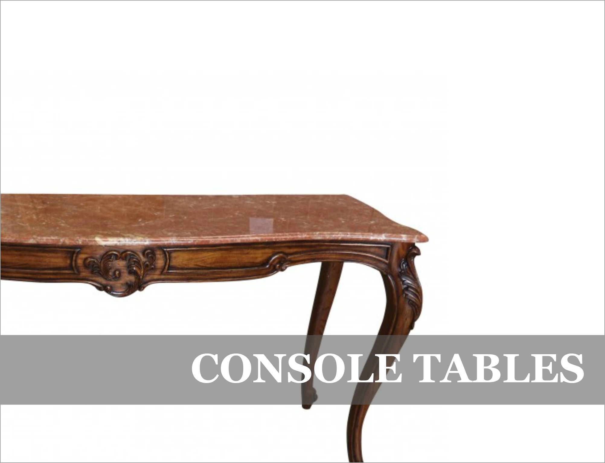 French Provincial Console Tables
