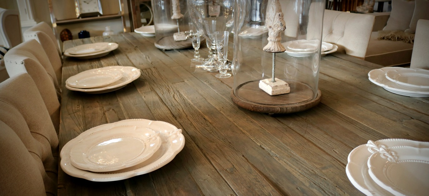 French Provincial Industrial Dining Settings