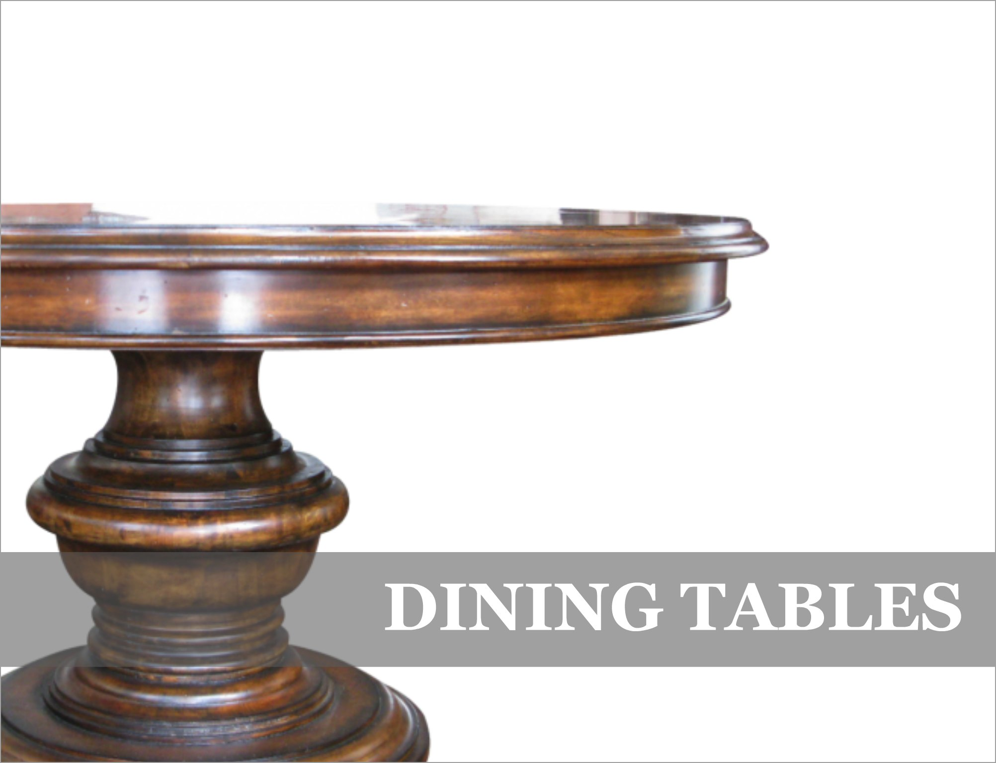 French Provincial & Industrial Dining Tables