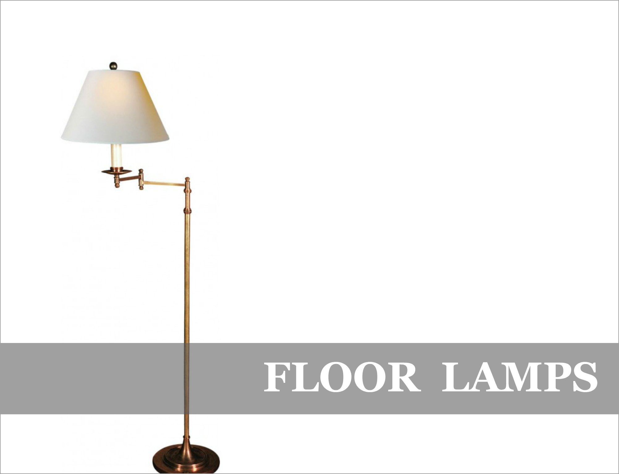 Designer Floor Lamps French Industrial Feature Lighting