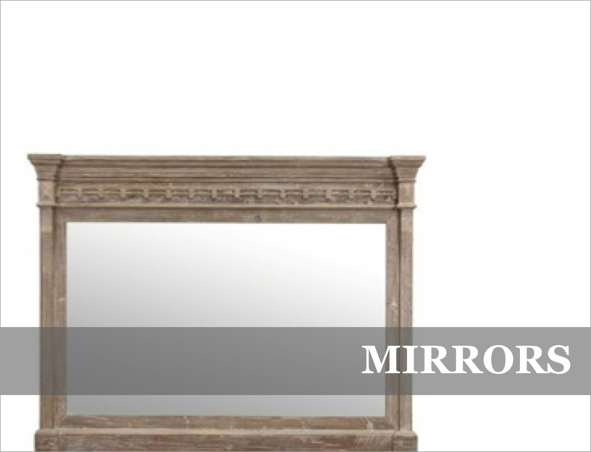 French Provincial Industrial Mirrors