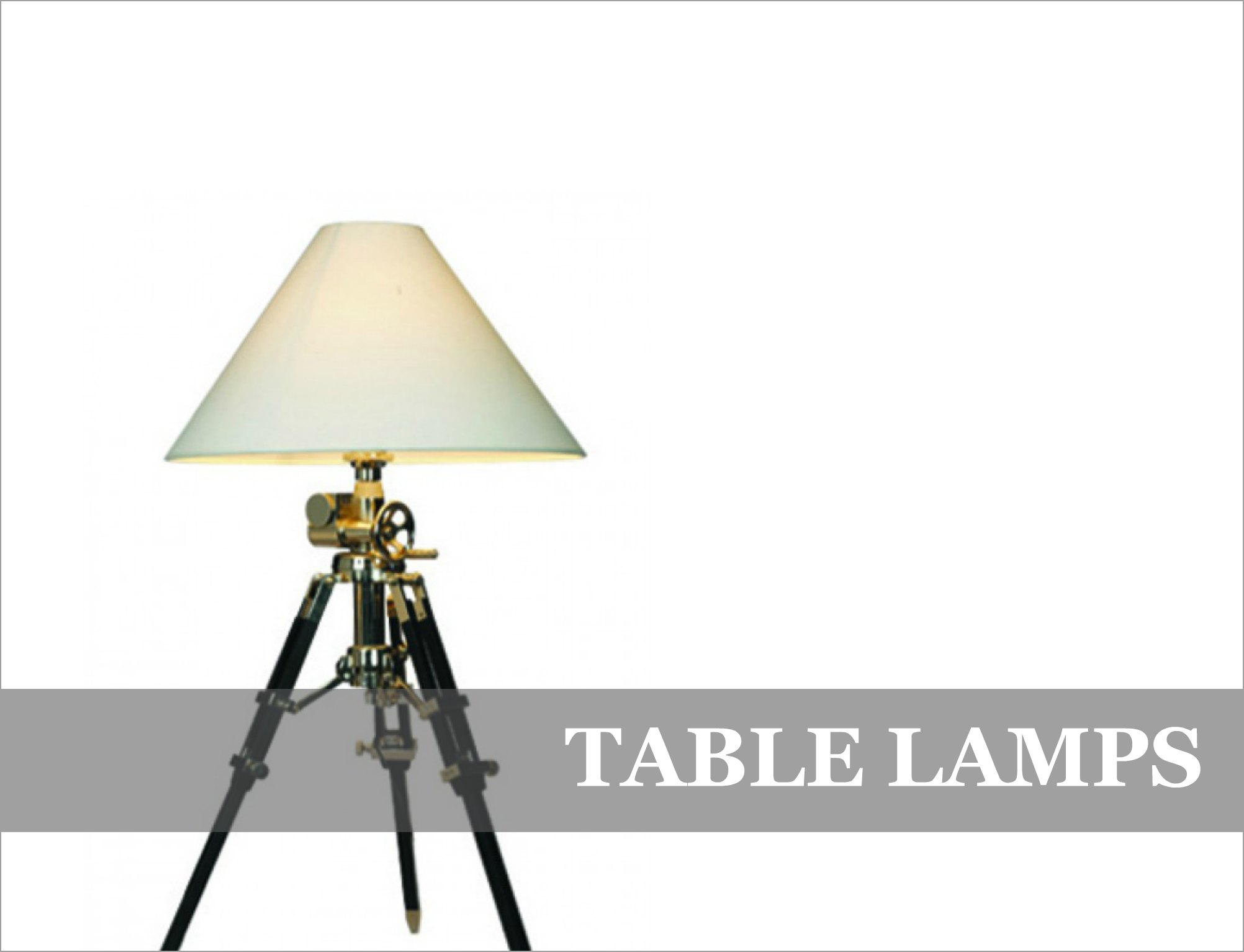 Table Lamps French Industrial Feature Lighting